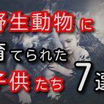 【驚愕】野生動物に育てられた子供たち 7選